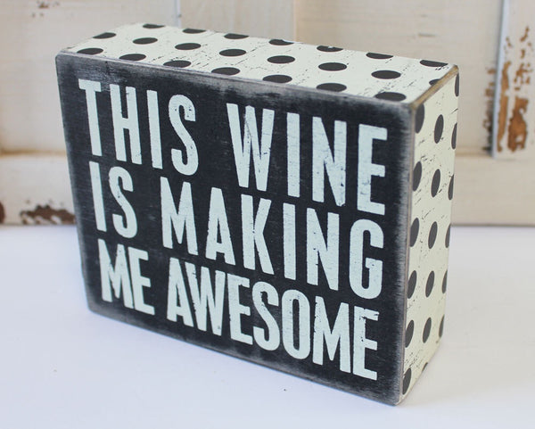 Wine=Awesome