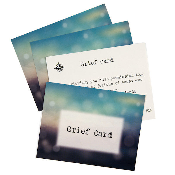 Solaceclub self care sympathy gift four 4 solaceclub grief cards each grief card is a reminder to hold solutioingenieria Gallery