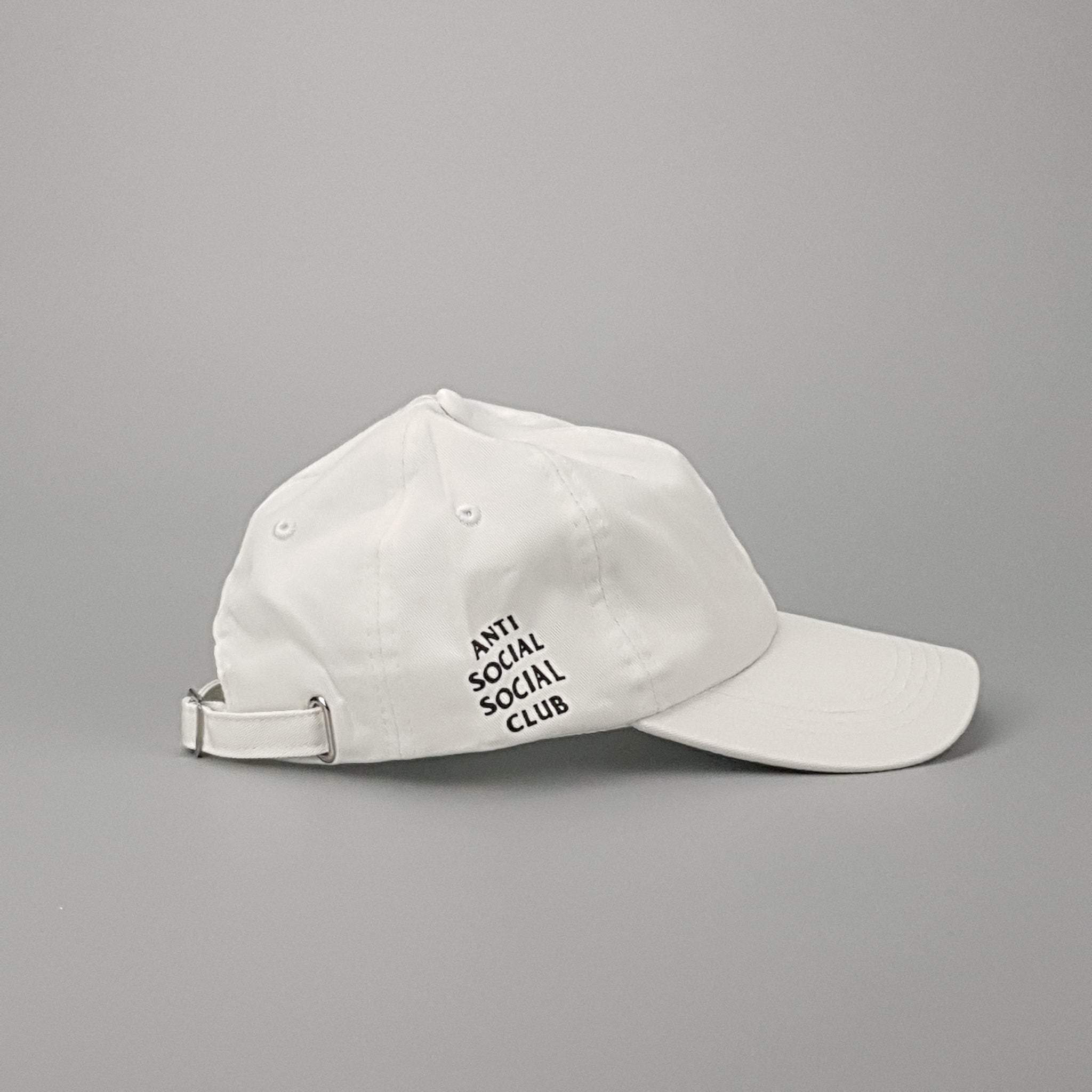 ddd25809d900c ... ASSC Weird Cap - White - Low-Profile Store ...