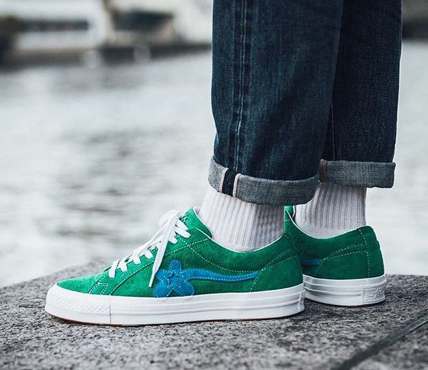 3aa5f865a21918 ... Converse X Golf Le Fleur One Star - Green - Low-Profile Store ...