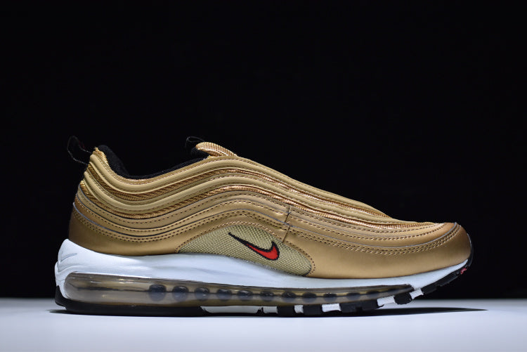newest 16235 e30a7 ... Nike Air Max 97 Metallic Gold - Low-Profile Store ...