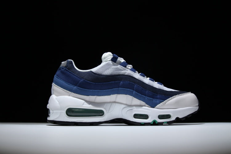 taille 40 f4a5e 8c51d Nike Air Max 95 White French Blue