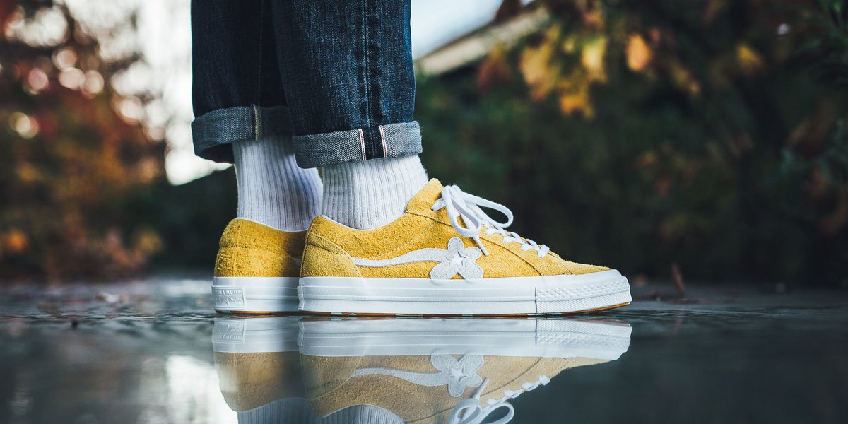 Converse X Golf Le Fleur One Star , Yellow , Low,Profile Store