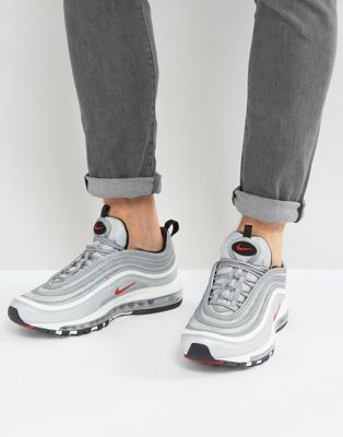 e9604715354 ... Nike Air Max 97 Silver Bullet - Low-Profile Store ...
