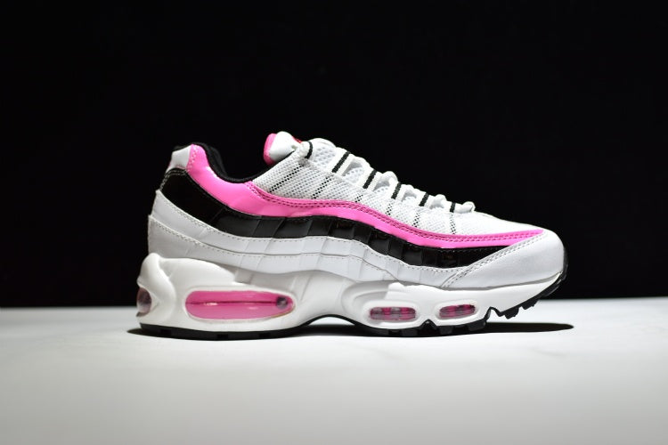 best service 85d4f bf499 Nike Air Max 95 - White/Pink/Black