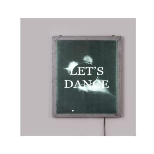 "POSTER FOR PET WITH FRAME ""FRAME IT!"" - ""LET'S DANCE"" Cm.52,5x37,5"