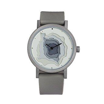 Terra Time Grey 40mm, Grey Silicon Band