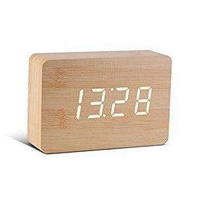 Brick Click Clock ساعة منبه Digital Clocks Gingko