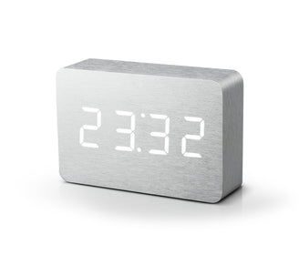 Brick Click Clock ساعة منبه Digital Clocks Gingko Default Title