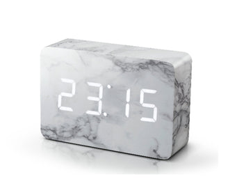 Brick Marble Click - ساعة الرخام Digital clocks Gingko