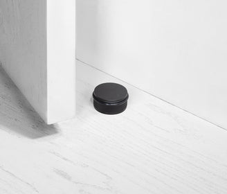 أداة إيقاف الأبواب DOOR STOP / FLOOR / BLACK اسود door holder Buster and Punch