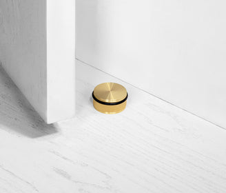 أداة إيقاف الأبواب DOOR STOP / FLOOR / BRASS ذهبي door holder Buster and Punch