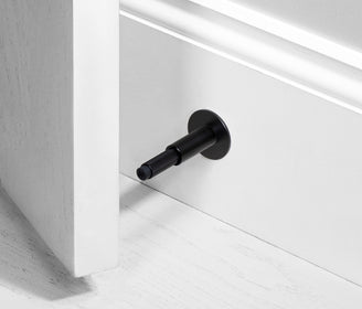 أداة إيقاف الأبواب DOOR STOP / WALL / Black اسود door holder Buster and Punch