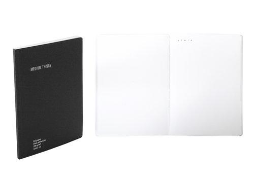 دفتر EVERYTHING PLAIN A5 Agenda Nava Design أسود