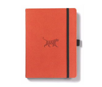 دفتر ملاحظات Dingbats Wildlife A5+ Tiger - برتقالي Notebook & Notes Dingbats