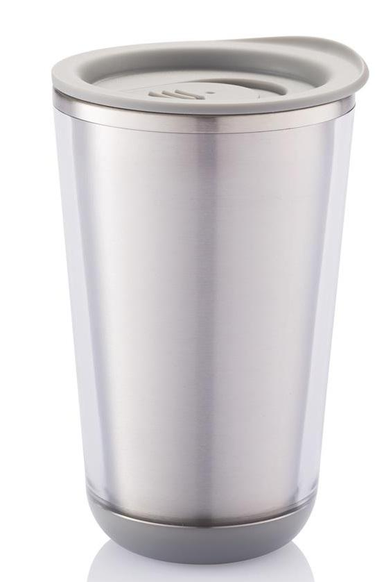 Dia travel tumbler Gray Travel Mug xindao