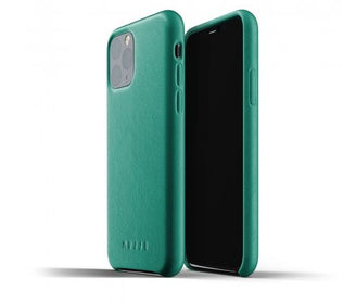 غلاف جلدي iPhone 11 الأخضر Smart Devices Cases Mujjo