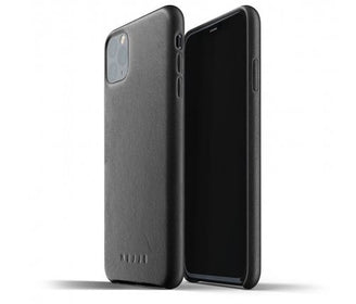 غلاف جلدي iPhone 11 الأسود Smart Devices Cases Mujjo