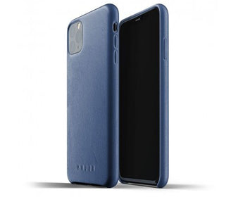 غلاف جلدي iPhone 11 Pro Max الأزرق Smart Devices Cases Mujjo