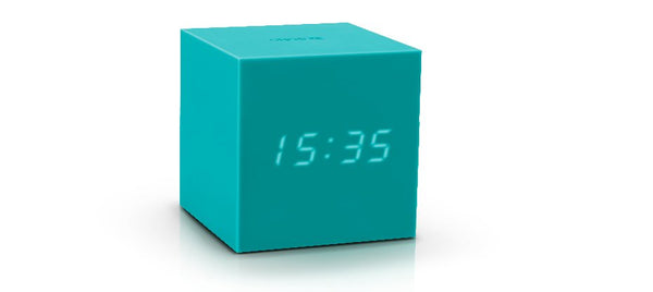Gravity Cube Click ساعة طاولة Digital clocks Gingko أخضر