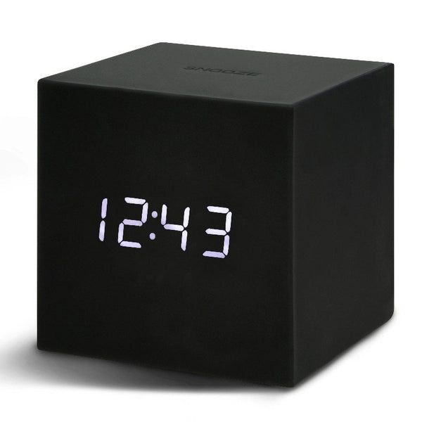 Gravity Cube Click ساعة طاولة Digital clocks Gingko أسود