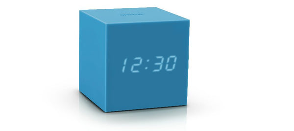 Gravity Cube Click ساعة طاولة Digital clocks Gingko أزرق
