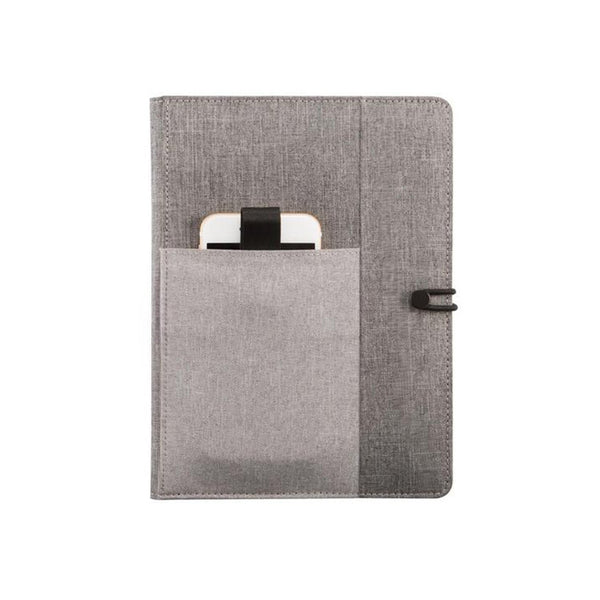 حافظة دفتر ملاحظات Kyoto A5 notebook cover رمادي NOTEPAD PORTFOLIOS xd-design