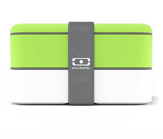 حافظة طعام MB Original Green / White LUNCH BOX Monbento