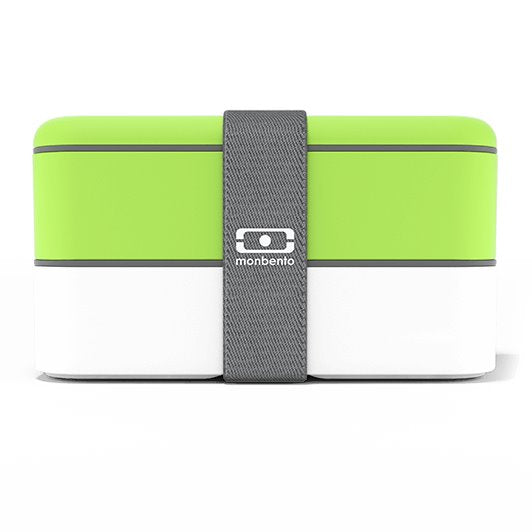 حافظة طعام MB Original Green / White Xero Monbento