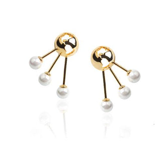 حلق Luna Earrings Cristina Ramella