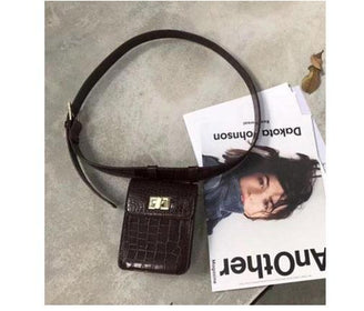 حقيبة FAUX ALLIGATOR Women Bags Thirteen Thirtyone بني