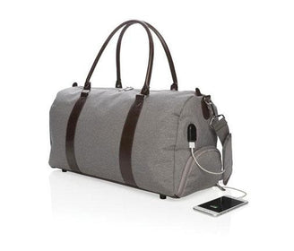 حقيبة الإجازة Weekend bag with USB output Duffle Bags Xindao