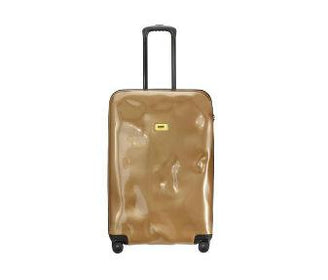 حقيبة السفر Bright Bronze Face Travel Bags Crash Baggage
