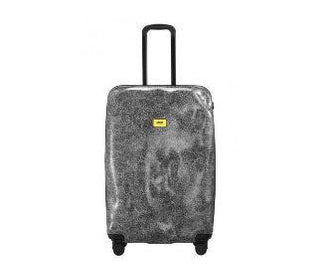 حقيبة السفر SURFACE White Fur Travel Bags Crash Baggage