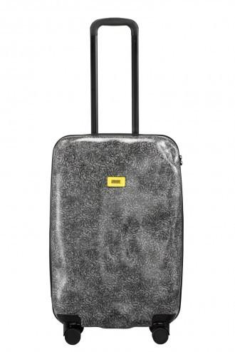 حقيبة السفر SURFACE White Fur Travel Bags Crash Baggage وسط