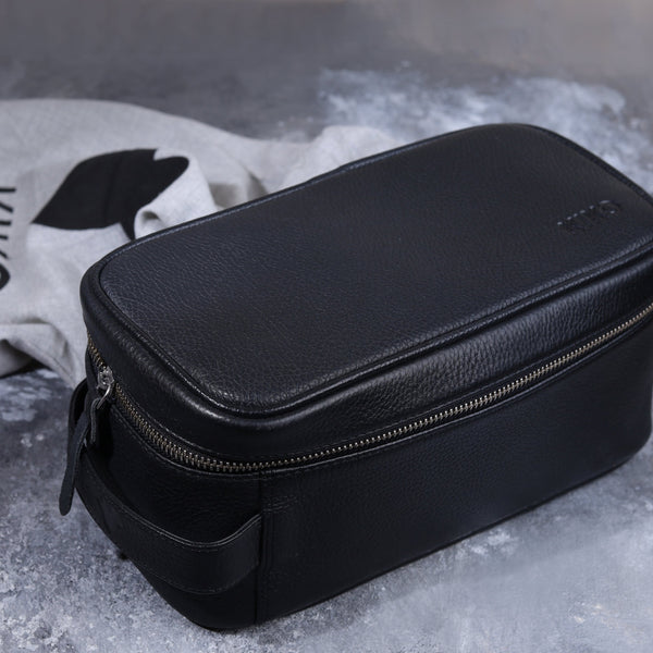 حقيبة التنظيم من Kiko Leather Dopp Kit Kiko Leather