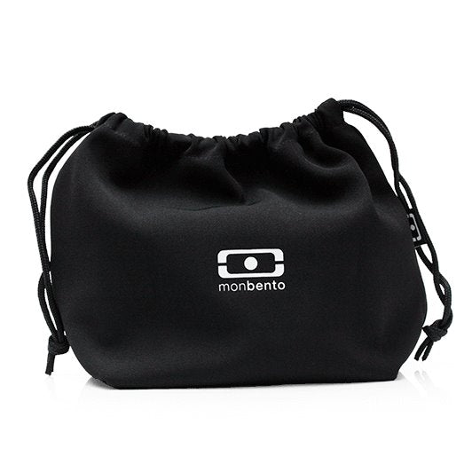 حقيبة MB Pochette Black / White Lunch Box Bag Monbento