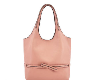 حقيبة SHOPPING BOW الوردية Shopper Bags Calicanto