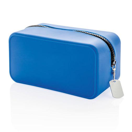 حقيبة تنظيم زرقاء Silicon toiletry Organizer bag Xindao