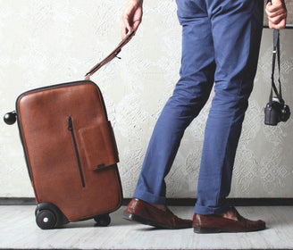 Iby6 الجلدية Daard حقيبة Travel Bags Daard