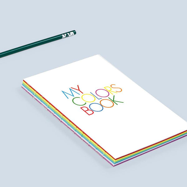 كراس تصميم MY COLORS BOOK A5 Notebook & Notes Nava Design
