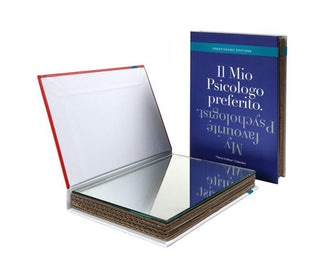 "كتاب المرايا ""Psychologist blu"" Mirrors Creativando"