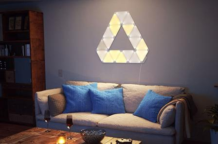 ألواح اضاءة ذكية Nanoleaf Light Panels Wall Lamp nanoleaf