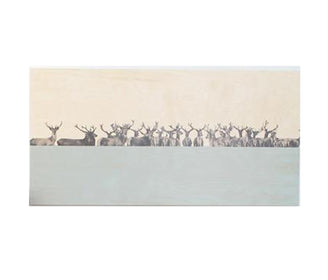 لوحة Deer Art Panels Story Tiles