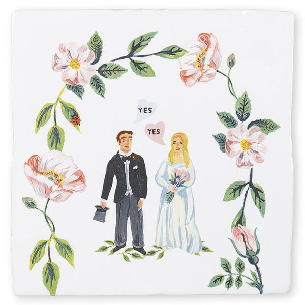 لوحة SHE SAID YES Art Panels Story Tiles