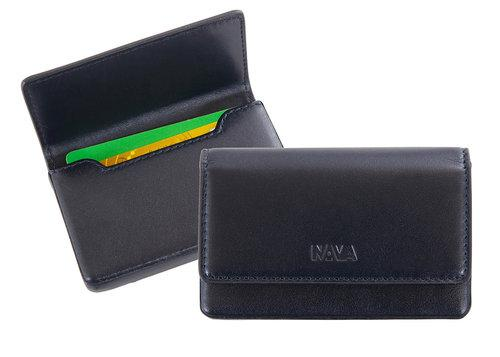 محفظة بطاقات إئتمان RIGID BUSINESS CARD HOLDER Wallets Nava Design أزرق