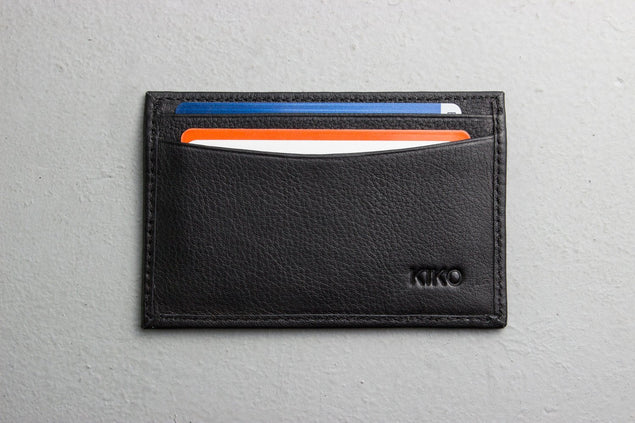 محفظة البطاقات Classic Card Case Wallets Kiko Leather
