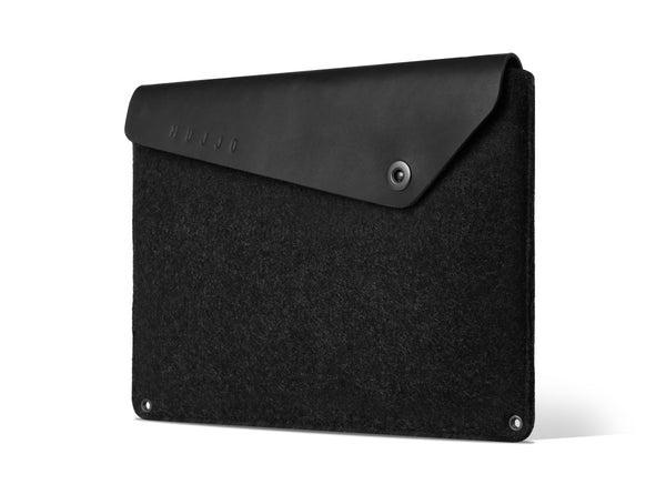 محفظة محمول Sleeve for Macbook - Black Notebook Cases Mujjo