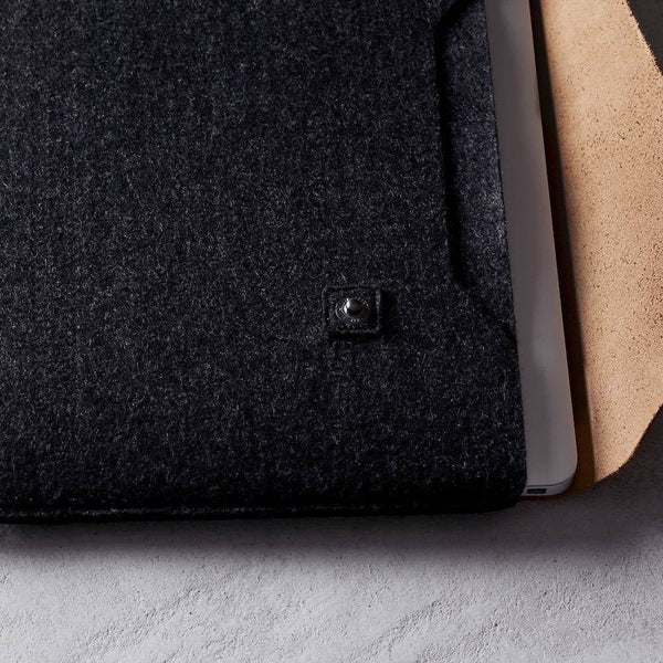 محفظة محمول Sleeve for Macbook - Brown Notebook Cases Mujjo