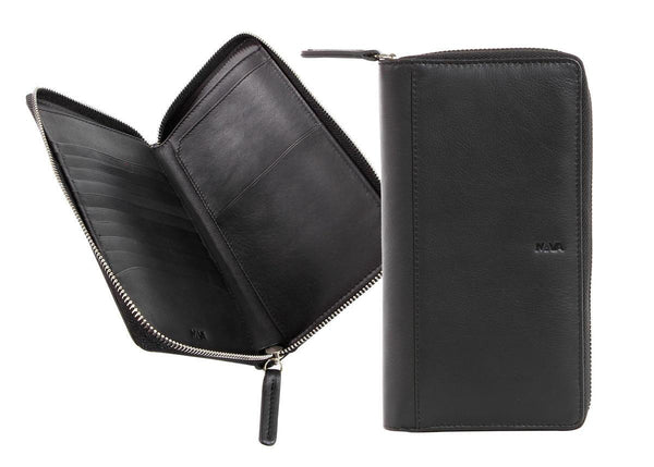 محفظة سفر منظمة SMOOTH WALLET/PASSPORT CASE Wallets Nava Design